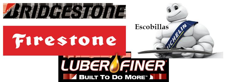 logos bridgestone firestone luberfiner michelin