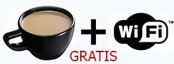 cafe y wifi gratis
